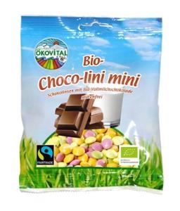 Bio Choco lini mini, Schokolinsen