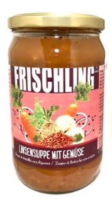 Frischling Linsensuppe