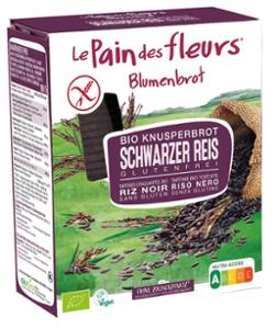Knusprige Bio Schwarzer Reis-Schnitten