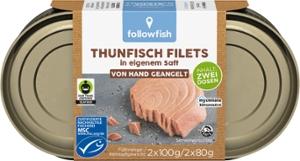 MSC Thunfisch Filets in eigenem Saft