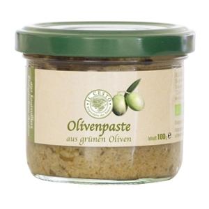 Olivenpaste grün