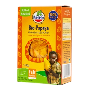 Bio-Papaya getrocknet bio & fair Tansania