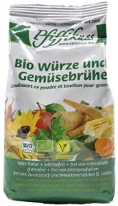 Bio Würze und Gemüsebrühe 450g Nachfüllbeutel