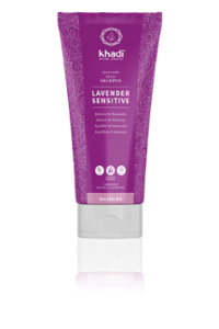 khadi Ayurvedic Elixir Shampoo Lavender Sensitive
