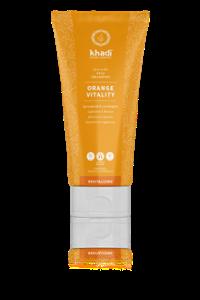 khadi Ayurvedic Elixir Shampoo Orange Vitality