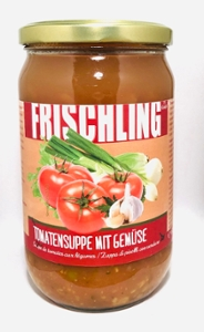 Frischling Bio-Tomaten-Gemüsesuppe